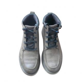 Sorel Men's Brown Nubuck Lace-Up Boots