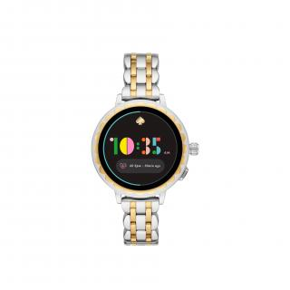 Kate Spade two-tone stainless steel scallop smartwatch 2
