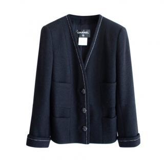 Chanel Coco Brasserie Tweed Little Black Jacket