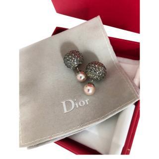 Dior Mise en Dior Crystal Tribale Earrings