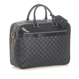 Louis Vuitton Damier Graphite Overnight Travel Bag