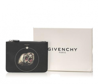 Givenchy Monkey Brothers Printed Pouch