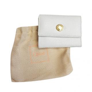 Chloe Vintage White Leather Purse