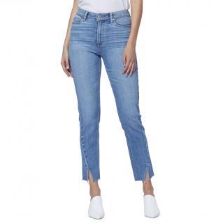 Paige Hoxton Ankle Crop Slim Jeans