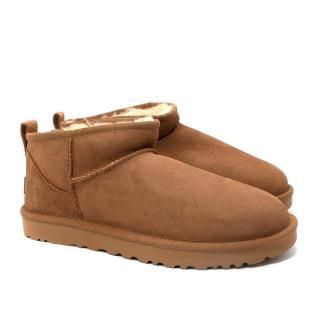 Ugg Classic Mini II Chestnut Sheepskin Boots