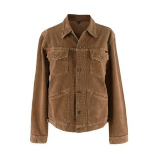 Tom Ford Men's Brown Corduroy Jacket