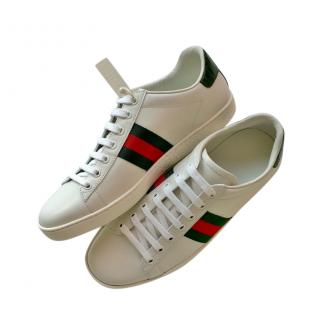 Gucci Classic White Ace Sneakers