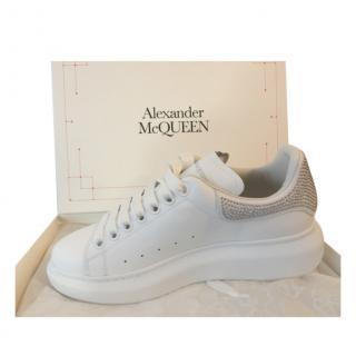 Alexander McQueen Crystal Embellished Oversize Sneakers