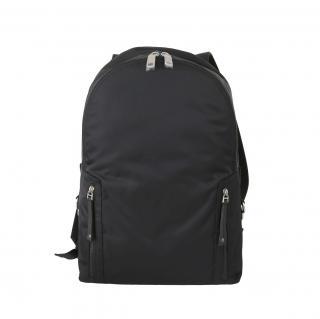 Dolce & Gabbana Black Nylon Backpack