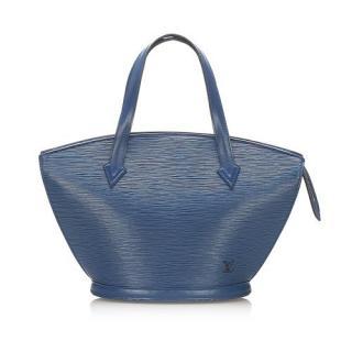 Louis Vuitton Blue Epi Leather Saint Jacques PM Short Strap