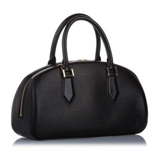 Louis Vuitton Black Epi Leather Jasmine Bag
