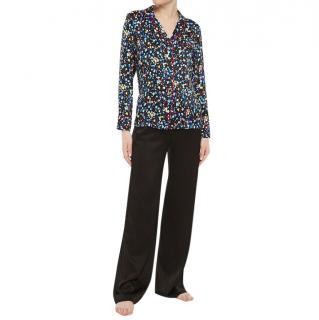 Stella McCartney Silk Polka Dot Pyjama Blouse