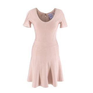 Herve Leger Blush Trish A-Line Mini Dress