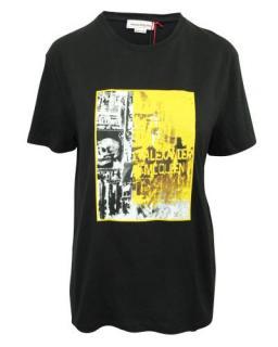 Alexander McQueen graphic-print logo T-shirt