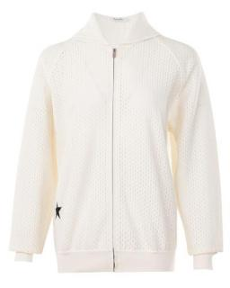 Dior Open Knit Embroidered Zip Jacket