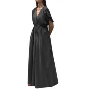 Collectiva Concepcion Black Giselda Maxi Dress