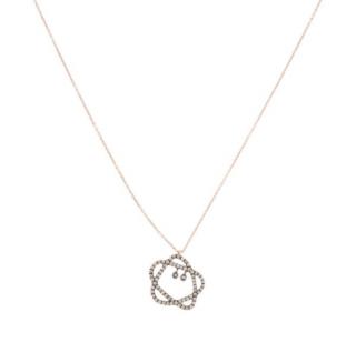 Annoushka 18ct Rose Gold Reversible Sugarplum Pendant Necklace