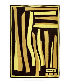 Bottega Veneta Yellow Striped Beach Towel