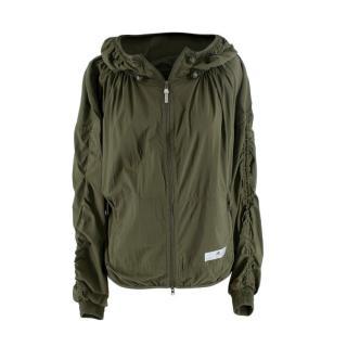 Stella McCartney x Adidas Khaki Running Jacket