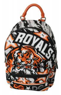 Dolce & Gabbana Tiger Print Royals Backpack