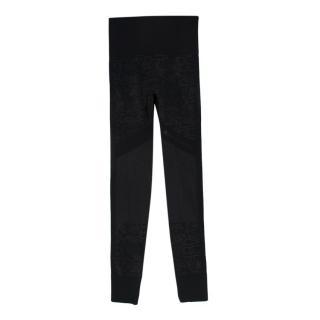 Stella McCartney x Adidas Black Gym Leggings