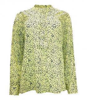 Samsoe & Samsoe Floral Print Long Sleeve Top