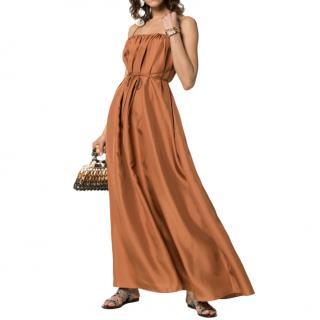 Three Graces Gwendoline Silk Strappy Dress