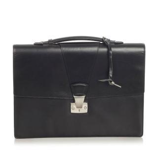 Cartier Black leather Pasha de Cartier Business Bag