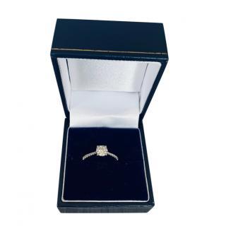 Bespoke 18ct White Gold Diamond Ring