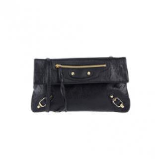 Balenciaga Black Envelope City Crossbody Bag