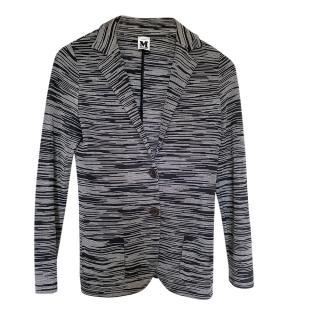 Missoni Grey & Black Lightweight Jacket