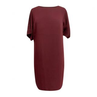 Lauren Ralph Lauren Burgundy Shift Dress