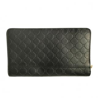 Paul Costelloe Monogram Zip Around Wallet