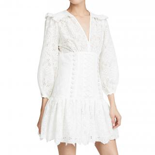 Zimmermann white Honour Corset Dress