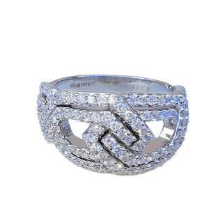 William & Son 18ct White Gold Diamond RIng