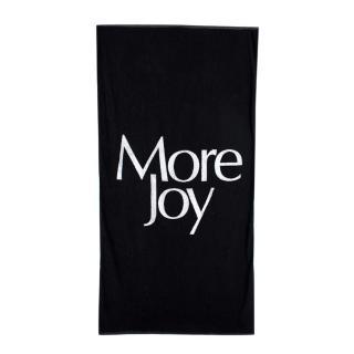 Christopher Kane More Joy Black Terry Cotton Towel 110 x 228 cm