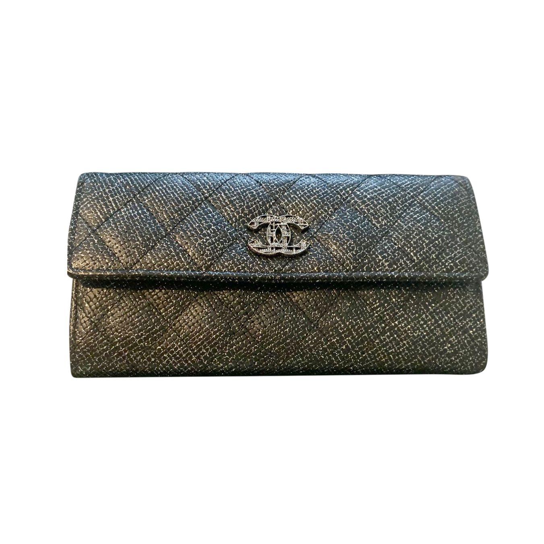 Chanel Iridescent Long Flap Wallet