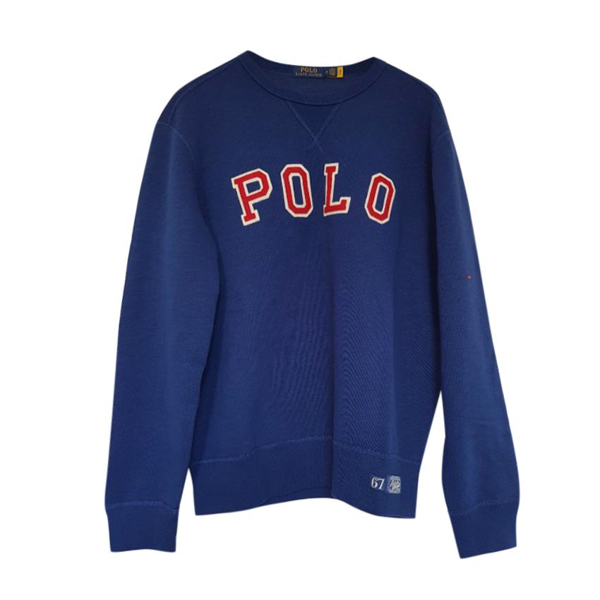 Ralph Lauren Polo long sleeved blue embroidered Polo sweatshirt