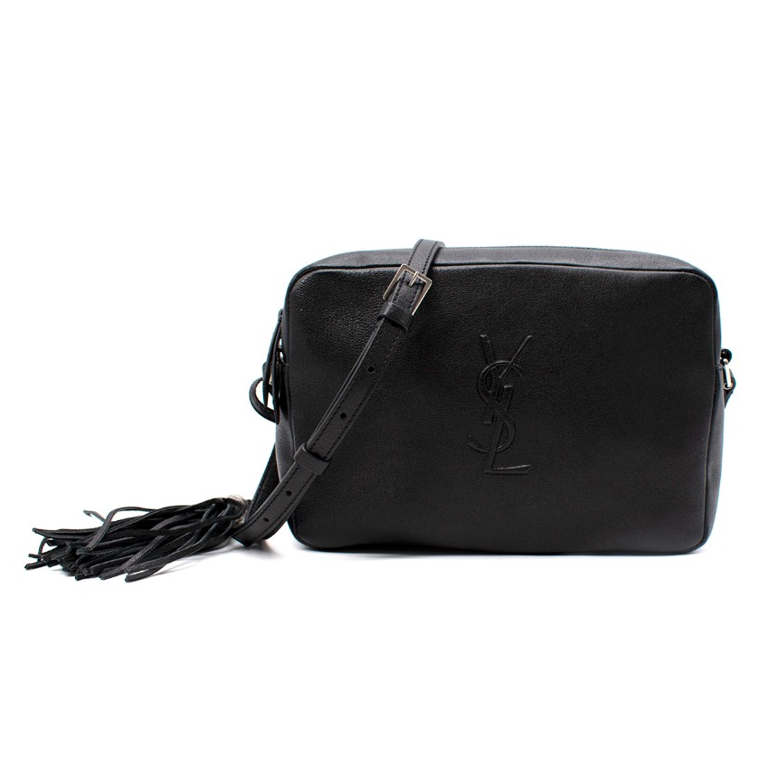 Saint Laurent Grain De Poudre Lou Tassel Camera Bag
