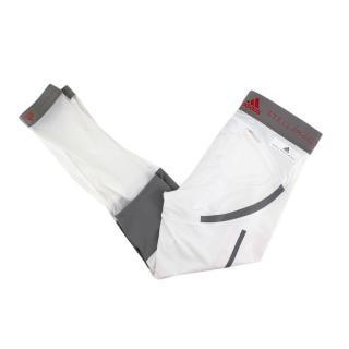Stella McCartney X Adidas White and Grey Leggings