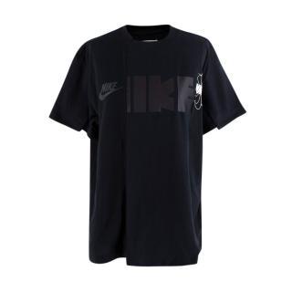 Nike x Sacai Black Logo T-Shirt