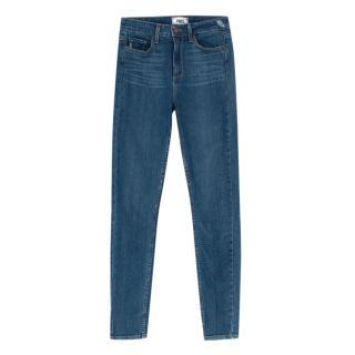 Paige Verdugo Mid Rise Skinny Jeans