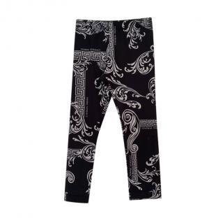Versace Monogram Baroque Leggings