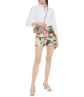 Dolce & Gabbana Floral Brocade Tailored Shorts