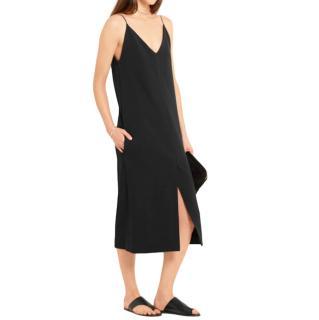Joseph Stretch Crepe Fifi Midi Dress