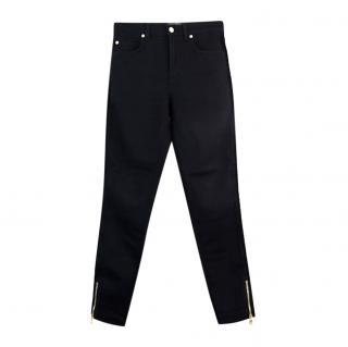 Dolce & Gabbana Black Rope Trim Jeans