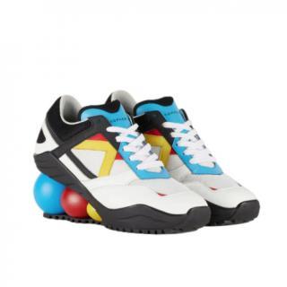 Christopher Kane Multicoloured Looner Sneakers