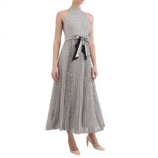 Zimmermann Black & Cream Spotted Sunray Picnic Dress