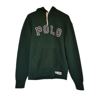 Polo Ralph Lauren Dark Green Logo Embroidered Hoodie