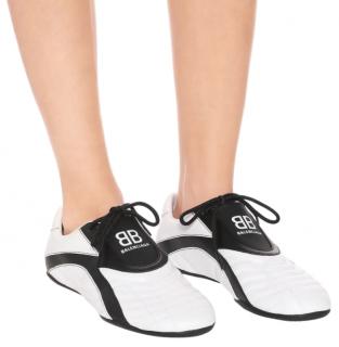 Balenciaga White & Black Zen Sneakers